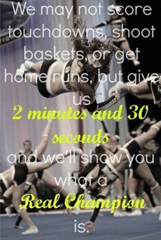 competitive to cheer is a sport - Google Search