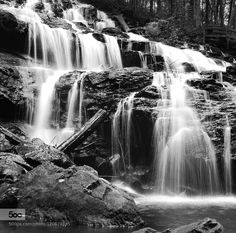 Trahlyta Falls - Pinned by Mak Khalaf Shot on Ilford SFX film - September 2014 So much to say about this exposure. It is a re-edit and repost of a picture I posted the first week or so I joined 500px. It may have been the first picture I posted to reach popular status. I've learned quite a bit about 500px since that initial post. But what I really want to mention is something about post processing. It never really ends for me. I could adjust any one particular picture for the rest of my…