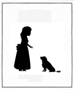 Die Goethezeit in Silhouetten 1911 Prinzessin Frederike von Baden  ill 48