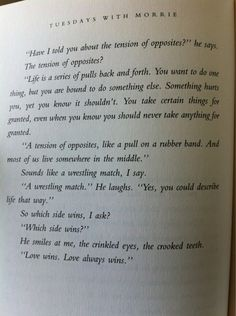 Tuesdays With Morrie - Mitch Albom