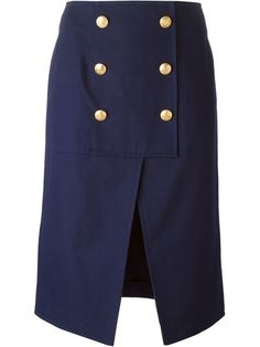 Shop Kenzo buttoned skirt in Une Femme à Suivre from the world's best independent boutiques at farfetch.com. Over 1000 designers from 300 boutiques in one website.
