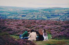 Picnics on hillsides