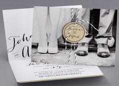 Hipster #Hochzeitskarten #kreativehochzeitskarten #einladungskarten Clyde M39-001