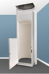 Garage to attic legacy lifts 800 597 5438 cargo lifts for Home elevators direct