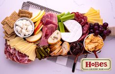 Ham Recipes, Whole Food Recipes, Country Ham, Party Trays, Charcuterie Board, July 4th, Breakfast Recipes, Boards, Lunch