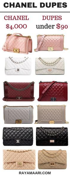621d755ec65 Chanel Dupes Replica Handbags, Tote Handbags, Chanel Handbags, Fashion  Handbags, Chanel Boy