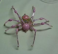 Beaded Spider. Have to remember to make one for the Christmas tree. Google Christmas Spider for the story.