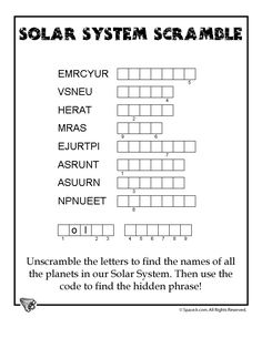 Image result for space worksheets