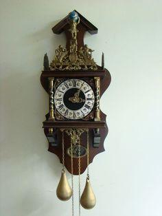 Catawiki pagina online de subastas Reloj Zaandam de madera de caoba, periodo de…
