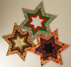 Fancy Star Candle Mat Pattern CPW-103 (advanced beginner, home decor & houseware)- $10.00, Robin Puma, Caliopatchworks
