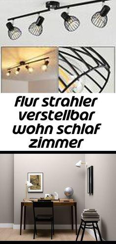Decken Strahler Lampe Arbeits Zimmer Beleuchtung Luxus Leuchte GOLD SCHWARZ 70cm