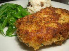 Parmesan Crusted Pork Chops Recipe 3 | Just A Pinch Recipes