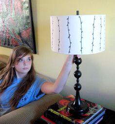 DIY lamp shade tutorial.. perfect!