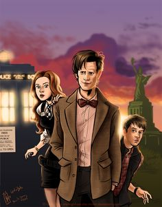 Doctor Who - Sunsets are Cool by Girl-on-the-Moon.deviantart.com on @deviantART