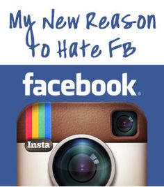 Read more about Instagram's (aka Facebook) Slap in the Face of their users who take cool photos. Unbelievable.