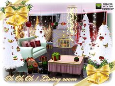 oh oh oh living room by Jomsims - Sims 3 Downloads CC Caboodle