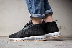 2d77a9c244442 Here's an On-Feet Look at the Nike Air Max Woven Boot In