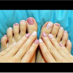Las uñas de los pies también se pintan. Algunos modelos del 2015 | Decoración de Uñas - Manicura y Nail Art