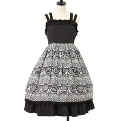 ALICE and the PIRATES Black jumper skirt ☆ ·.. · ° ☆ ·.. · ° ☆ ·.. · ° ☆ ·.. · ° ☆ ·.. · ° ☆ http://www.wunderwelt.jp/products/detail7960.html ☆ ·.. · ° ☆ How to buy ☆ ·.. · ° ☆ http://www.wunderwelt.jp/user_data/shoppingguide-eng ☆ ·.. · ☆ Japanese Vintage Lolita clothing shop Wunderwelt ☆ ·.. · ☆ #gothiclolita