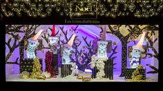Le Bon Marche Rive Gauche Paris Vitrines Noel 2015 - HD - 2