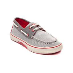 YouthTween Sperry Top-Sider Halyard Casual Shoe, Gray | Journeys Kidz