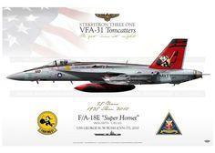 "F / A-18E VFA-31 ""Tomcatters"" JP-1047"