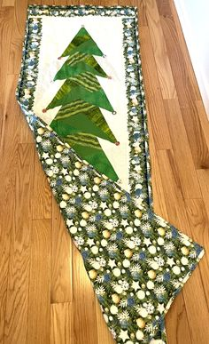 """Wall Christmas tree 28"""" x 78"""" Wall Christmas Tree, Christmas Time, Babies First Christmas, Tree Skirts, Etsy Shop, Holiday Decor, Star, Stars"""