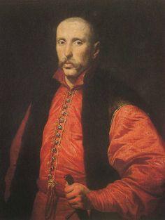Portret Stanisław Krasińskiego, autor nieznany, przed 1654, w kolekcji Muzeum Narodowego w Warszawie