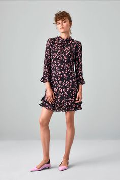 Rebecca Taylor Resort 2019 Fashion Show Collection: See the complete Rebecca Taylor Resort 2019 collection. Look 8