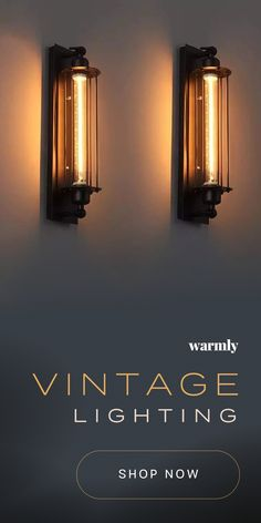 Vintage Lighting - 50 off (or more) while supplies last! Vintage Lighting - 50 off (or more) while supplies last! Art Deco Lighting, Shop Lighting, Vintage Lighting, Lighting Design, Barn Lighting, Modern Outdoor Wall Lighting, Club Lighting, Vintage Wall Lights, Copper Lighting