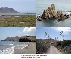 Parque Natural Cabo de Gata-Níjar from the blog SPANISH IMPRESSIONS: Protected Landscapes in Spain *** http://bobbovington.blogspot.com.es/2012/07/protected-landscapes-in-spain.html#