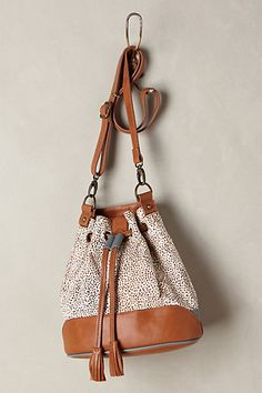 Calf Hair Bucket Bag #anthropologie #anthrofave #women