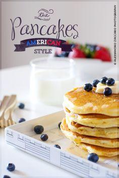 Fancy Factory Baking Lab: Pancakes Americani • Classic American Pancakes