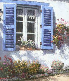 Park, Sam – Provence Window