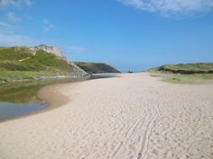 Approach to Broadhaven South beach, Bosherston, Pembrokeshire, Wales. Shared by Motorcycle Fairings - Motocc Swansea Bay, Swansea Wales, Pembrokeshire Wales, Family Holiday, Holiday Ideas, Wonderful Places, Beautiful Places, Cymric, Emerald Isle