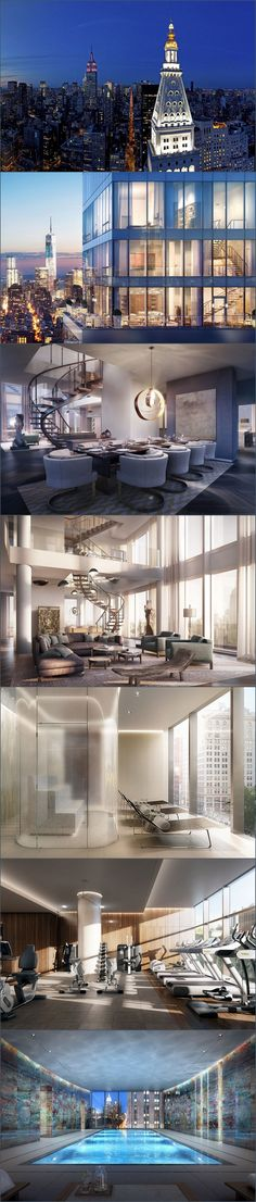 Rupert Mudroch's New - NY Penthouse - Style Estate - you've got to be fucking kidding me. #thedevilhasstyle