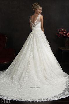 Amelia Sposa 2015 Wedding Dress Style: Maritza | Heart Over Heels #bridal #designer