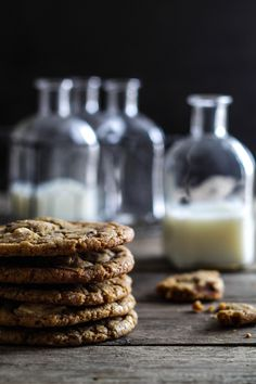 The Best Chocolate Chip Cookies (Loui&bearnaisen) Chocolate Chip Cookies, Yummy Treats, Yummy Food, Danish Food, Sweet Tarts, Recipes From Heaven, Afternoon Snacks, Cookie Recipes, Food Photography