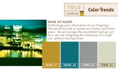 YOLO Colorhouse Edge of Night Palette- This is such a bold and calming palette. I love it