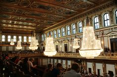 Musikverein, Vienna, where Gottesmann conducted the Wiener Symphonie for 5 years.