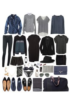 week long trip #02 by coffeestainedcashmere on Polyvore featuring polyvore, fashion, style, Zara, CÉLINE, H&M, Toga, Aubin & Wills, By Malene Birger, Balenciaga, J.Crew, Cheap Monday, Deborah Marquit, Lanvin, Georg Jensen, Penguin Group, Repossi, Pachacuti, Étoile Isabel Marant, Madewell, Le Labo, Aesop, Ray-Ban, Chanel, Gucci and Dogeared