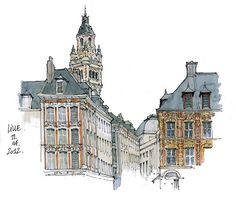 Lille, Grand'Place by gerard michel, via Flickr