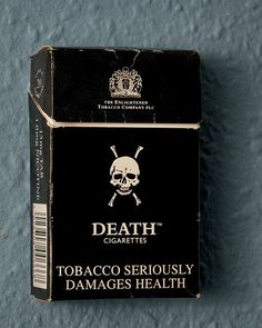 All cigarette packs should look like this...