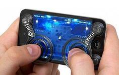 Joystick Fling mini Ninja para iPhone, con esto en el metro lo partes