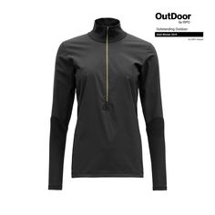 RUNNING COVER WOMAN ZIP NECK - Devold - Devold of Norway Caviar, Athletic, Running, Zip, Jackets, Norway, Women, Products, Fashion