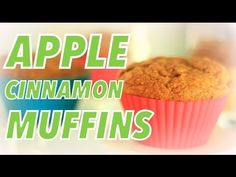 Whole-Wheat Apple Cinnamon Muffins Recipe Healthy Baking, Healthy Foods To Eat, Healthy Desserts, Healthy Muffins, Healthy Life, Apple Cinnamon Muffins, Cinnamon Apples, Baking Recipes, Snack Recipes