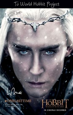 #Thranduil in #TheHobbit: The Battle of the Five Armies - #WorldHobbitProject and http://www.worldhobbitproject.org