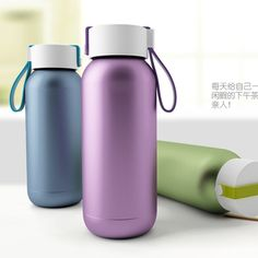 Free shipping new design double stainless steel thermos cup,248ML portable vacuum cup with rope, best gift for kid and friend-in Vacuum Flasks & Thermoses from Home & Garden on Aliexpress.com | Alibaba Group