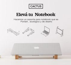 Soporte para notebook portátil. Hecho a mano.  #laptopstand