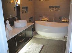 Zen Master Bathroom - contemporary - bathroom - miami - Phyllis Mosher Designs, Inc.